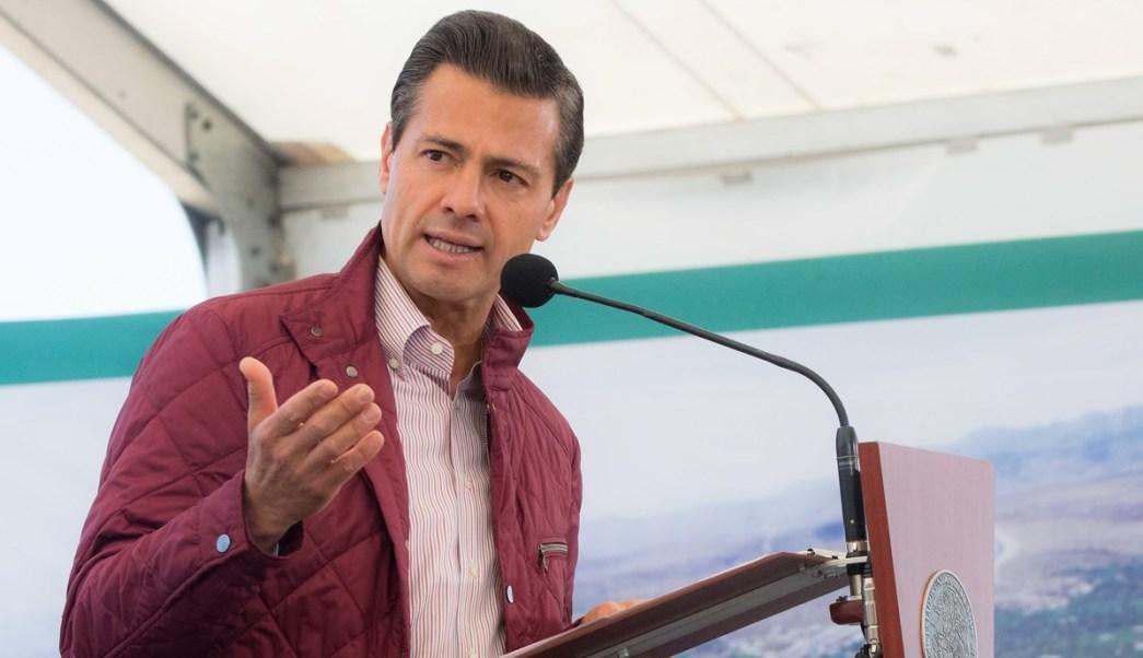 El presidente Peña Nieto entregó el Libramiento Poniente en San Luis Potosí.