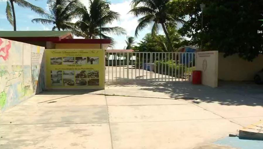Escuela pesquera en Puerto Morelos, Quintana Roo (Noticieros Televisa)