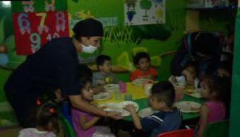 Los niños deben tener de uno a tres años 11 meses; que es la edad límite en las estancias (Noticieros Televisa)