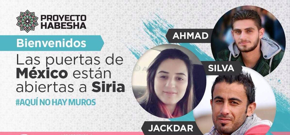 Los jóvenes sirios continuarán su educación universitaria en México, la cual fue interrumpida por la guerra en su país. (Facebook: Proyecto Habesha)