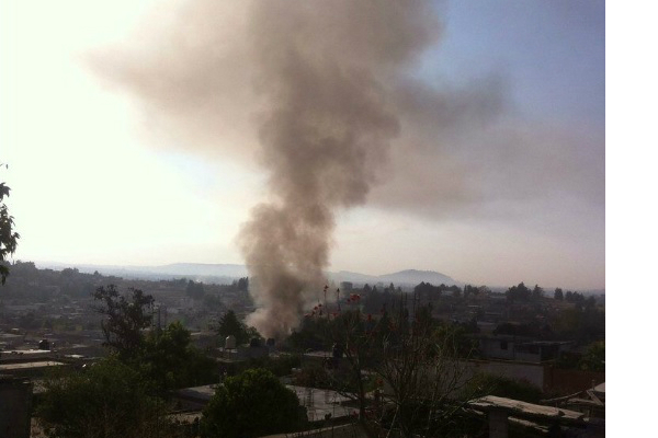 Explosión de un polvorín en Ixtacuixtla, Tlaxcala; al menos 3 personas resultan heridas