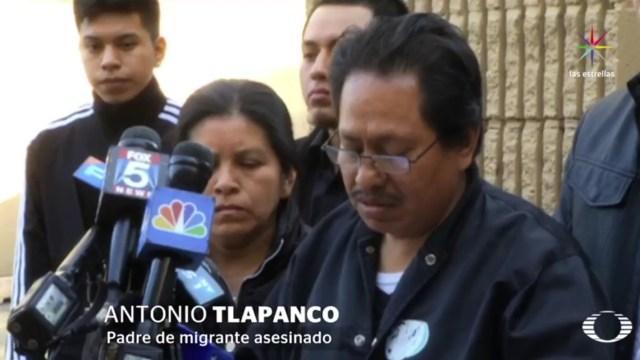 """Sergio """"no debió de ser condenado a muerte en la calle"""", señaló el padre de la víctima. (Noticieros Televisa)"""