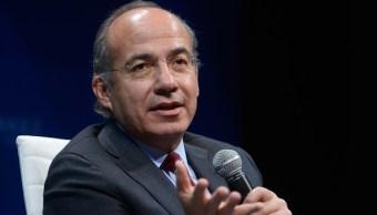 Felipe Calderón, expresidente de México (Getty images, archivo)