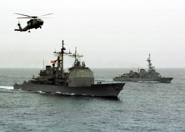 Las maniobras se extenderán por 2 millones de kilómetros cuadrados en el Mar de Omán y en el océano Indico, dijo el jefe de la Armada (Getty Images/Archivo)