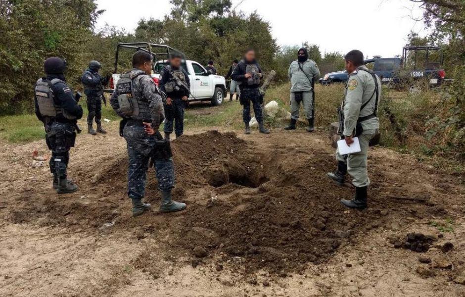 La pipa y el combustible fueron puestos a disposición del Ministerio Público federal