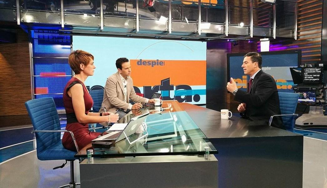 Gerónimo Gutiérrez, embajador de México en Estados Unidos, en la mesa de Despierta con Loret. (Twitter, @NTelevisa_com)