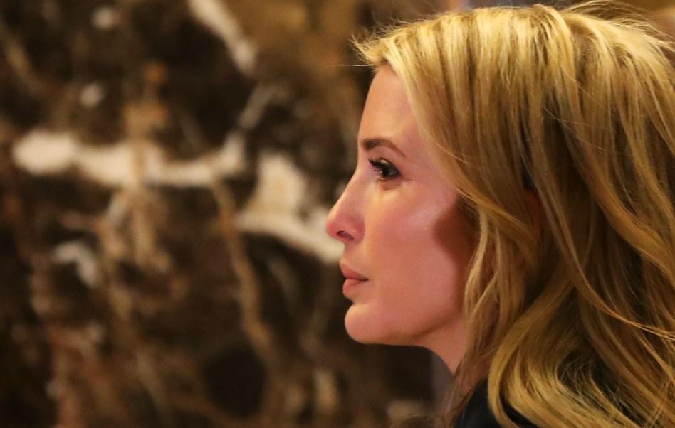 Ivanka Trump, hija del presidente de Estados Unidos, Donald Trump. (Getty Images, archivo)