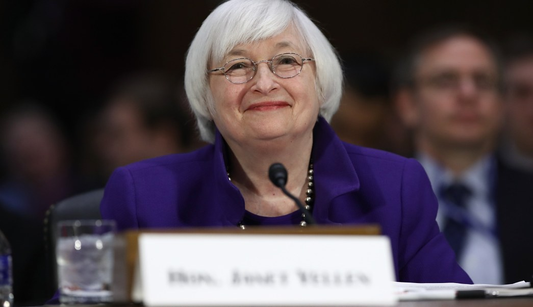 La presidente de la Reserva Federal, Janet Yellen (Getty Images)