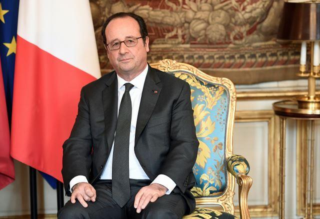 """""""Nunca es bueno mostrar el más mínimo desprecio con un país amigo"""", aseguró Hollande cuando le preguntaron por las declaraciones lanzadas por Trump contra la capital francesa. (AP, archivo)"""