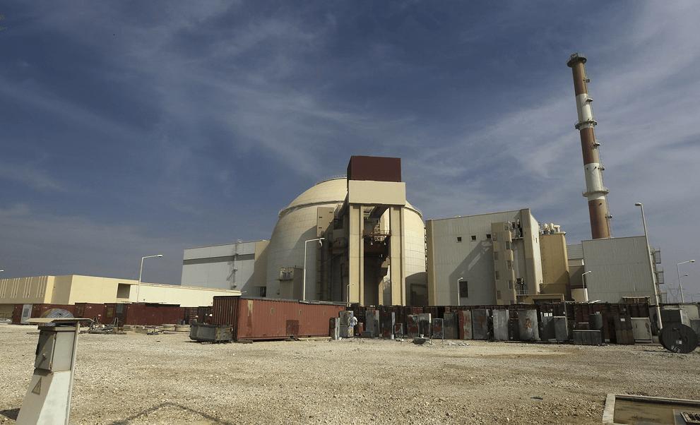 Imagen del reactor nuclear de la provincia iraní de Bushehr. (AP, archivo)