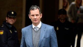 Iñaki Urdangarin, condenado a seis años y tres meses de prisión por caso de corrupción. (AP)