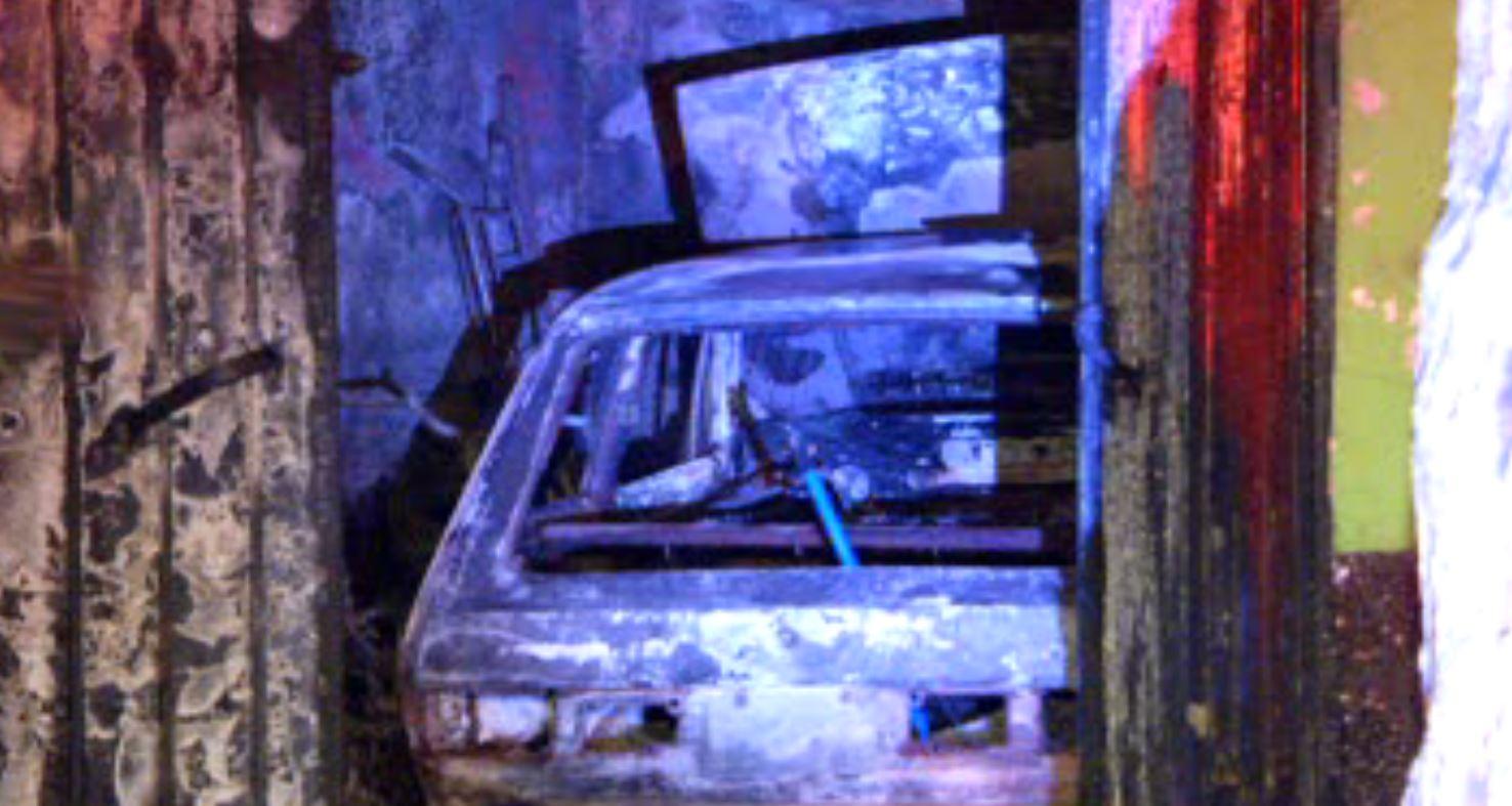 Incendio en vivienda de la GAM dejó sólo daños materiales. (Noticieros Televisa)