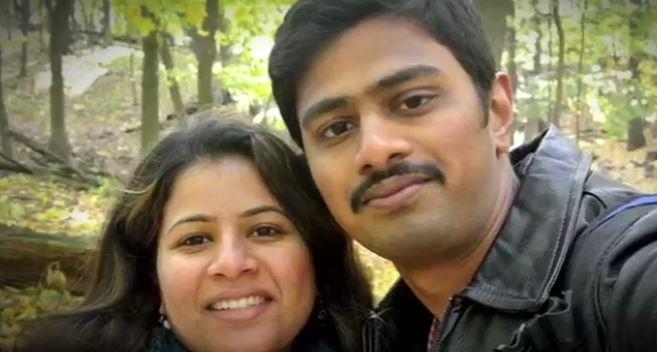 Sunayana Dumala y Srinivas Kuchibhotla, el ciudadano indio muerto en un ataque en Kansas (Noticieros Televisa)