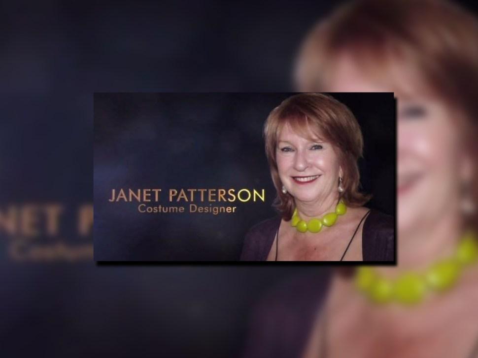 La foto de Jan Chapman apareció junto al nombre de Janet Patterson, diseñadora de vestuario muerta en 2015. (Academia de Artes y Ciencias Cinematográficas)
