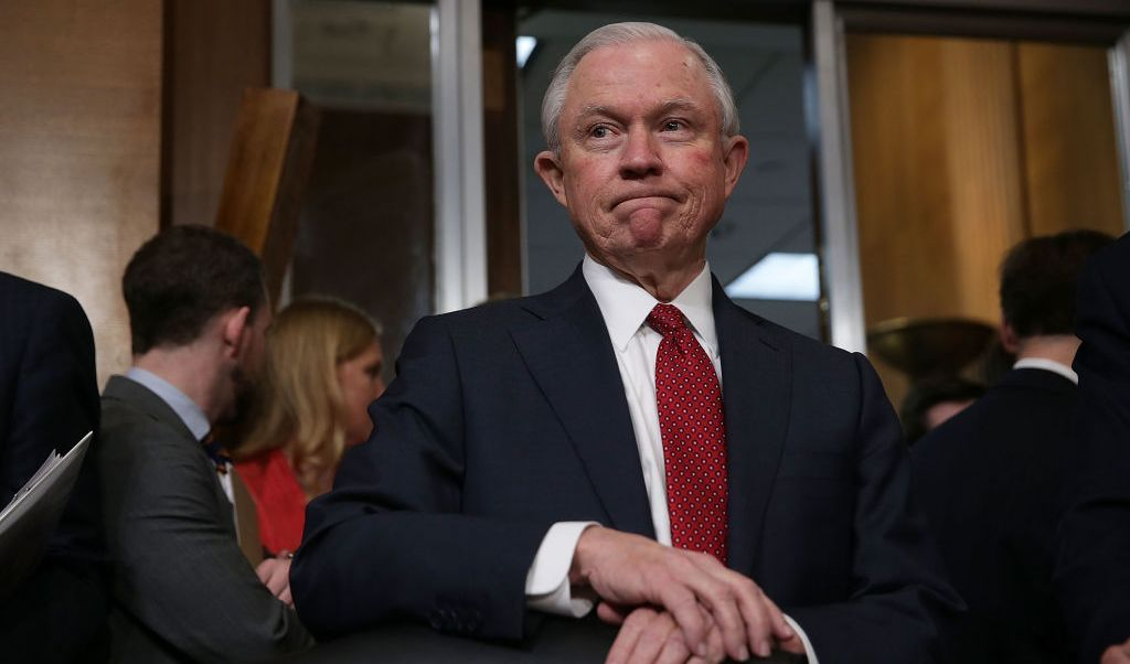 Jeff Sessions, nuevo fiscal general de Estados Unidos.