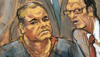 Niegan El Chapo reunión frente abogado