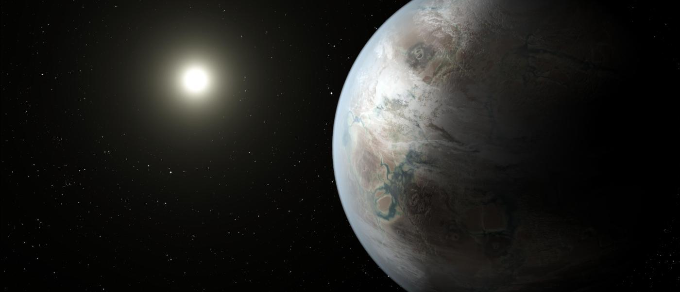 Kepler-452b, es el primer planeta con un tamaño similar a la Tierra.