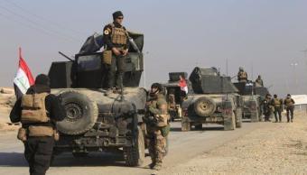 Las fuerzas armadas iraquíes tomaron el control del aeropuerto de Mosul