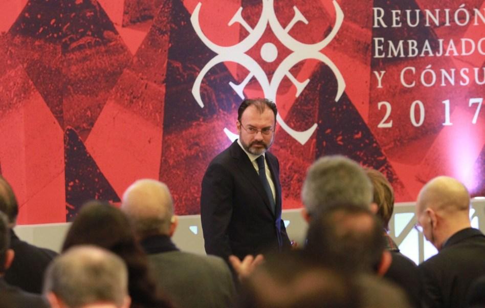 Luis Videgaray, secretario de Relaciones Exteriores. (Notimex, archivo)