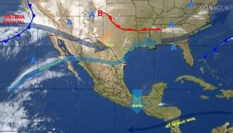 Mapa con el pronóstico del clima para este 6 de febrero; suben las temperaturas en México. (SMN)