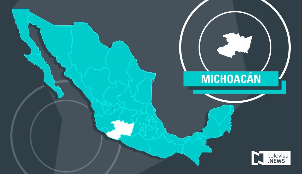 Investigan muerte de posible objetivo delincuencial en Michoacán.