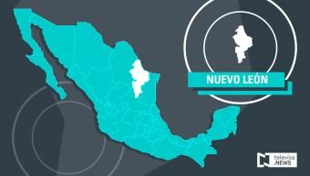 Rescatan en Nuevo León a un hombre atrapado en alcantarilla