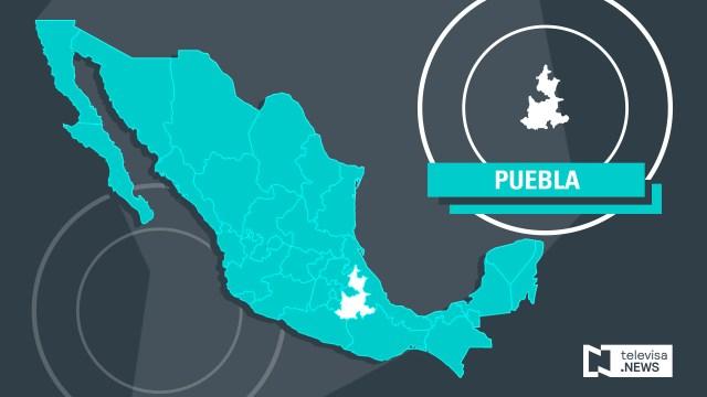 Foto: Mapa de Puebla, Noticieros Televisa