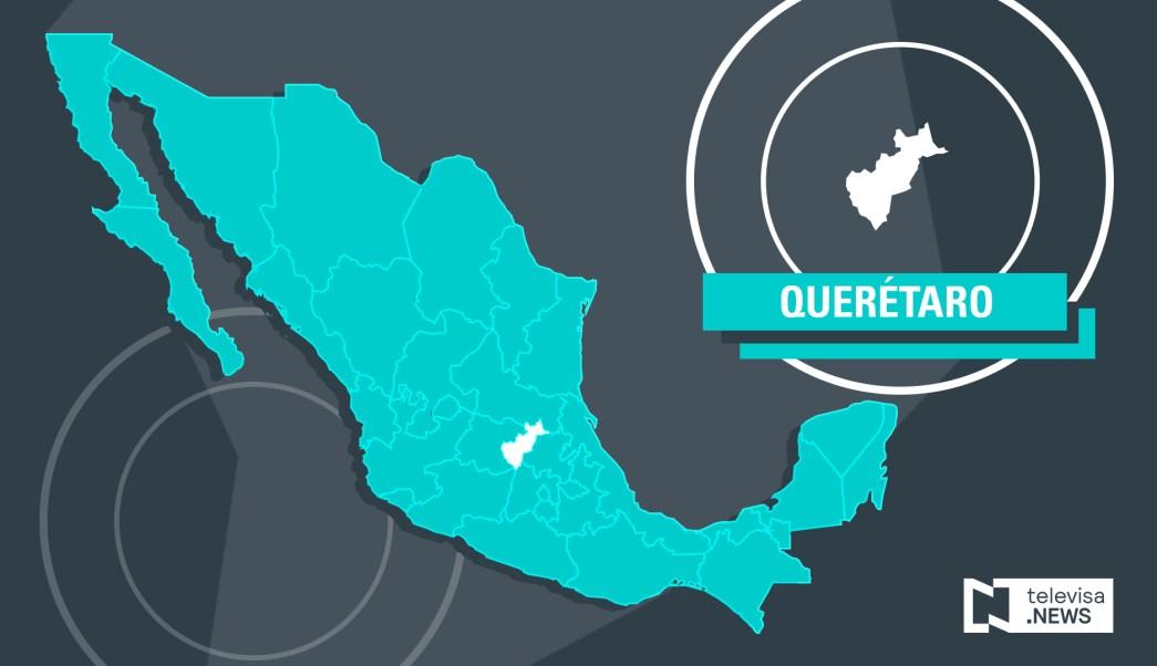 Mapa de Querétaro (Noticieros Televisa)
