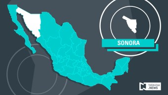 Mapa de Sonora (Noticieros Televisa)