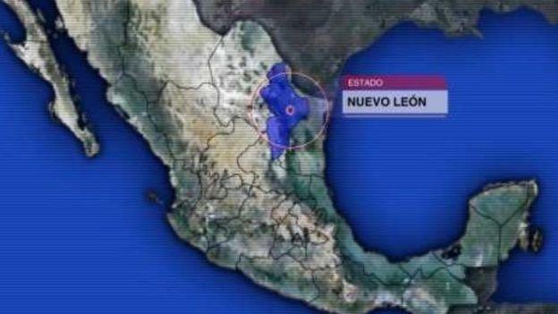 Mapa de Nuevo León (Noticieros Televisa)