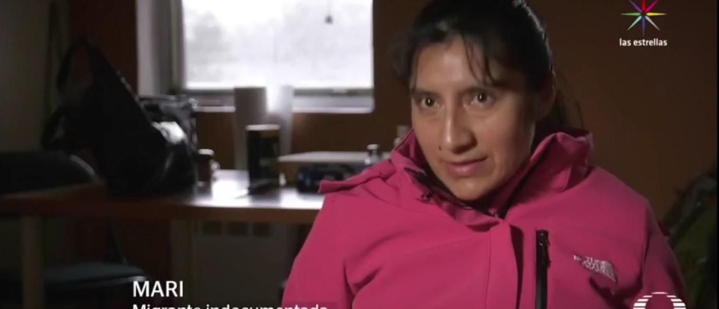Mari vive en Maryland y teme ser deportada. (Noticieros Televisa)