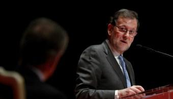 El presidente del Gobierno español, Mariano Rajoy, agradeció a sus compañeros de partido (Getty Images/Archivo)