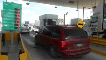 """Caminos y Puentes Federales (Capufe) reparó la plataforma del cruce internacional denominado """"Nuevo Amanecer"""", que une a Reynosa, Tamaulipas, con Pharr, Texas (Notimex)"""