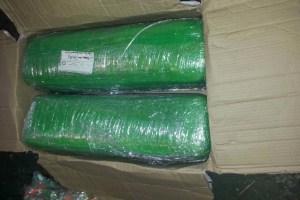 Paquete donde se escondía marihuana, hallada en una empresa de paquetería en la CDMX; las autoridades inician una investigación