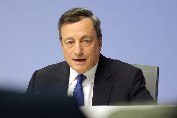 Mario Draghi, presidente del Banco Central Europeo (BCE) (Getty Images)