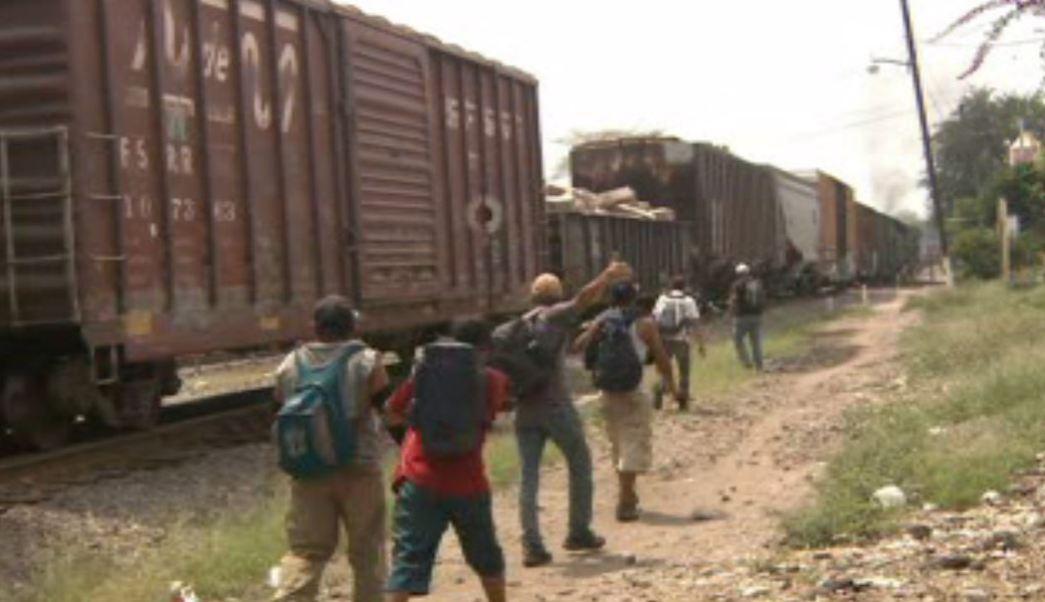 Migrantes centroamericanos en Veracruz (Noticieros Televisa)