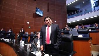 Miguel Barbosa, coordinador de senadores del PRD. (Twitter: @MBarbosaMX)