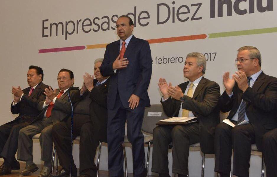 Navarrete Prida dijo que no es momento para buscar salarios emergentes (Twitter/@navarreteprida)