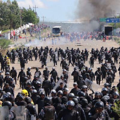 AMLO: Gobierno nunca dará la orden de reprimir al pueblo como paso en Nochixtlán