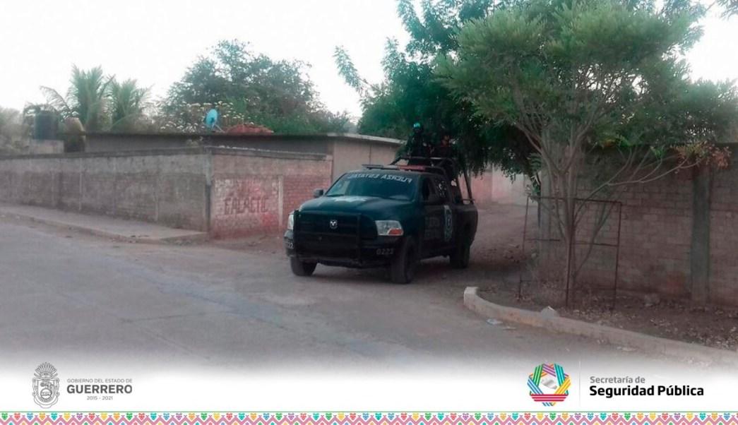 Operativo de seguridad en Ajuchitlán y San Miguel Totolapan, Guerrero.