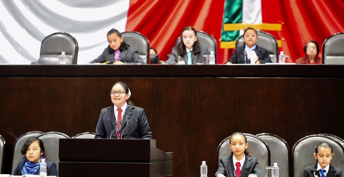 Este viernes concluyó el Décimo Parlamento Infantil en la Cámara de Diputados.