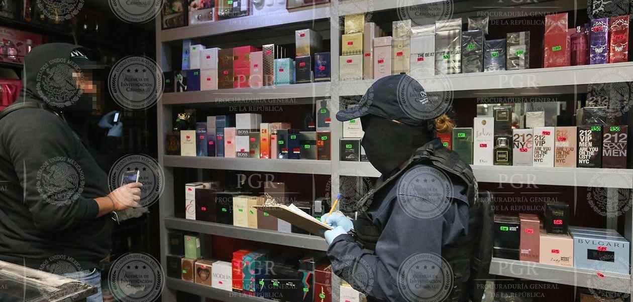 La mercancía se localizó en siete locales comerciales, ubicados en la colonia Centro (PGR)