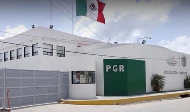 Delegación de la PGR en Campeche.