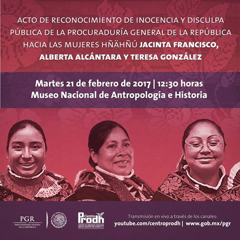 La ceremonia se realizará en el Museo Nacional de Antropología e Historia. (Twitter: @ppinocenciamx)
