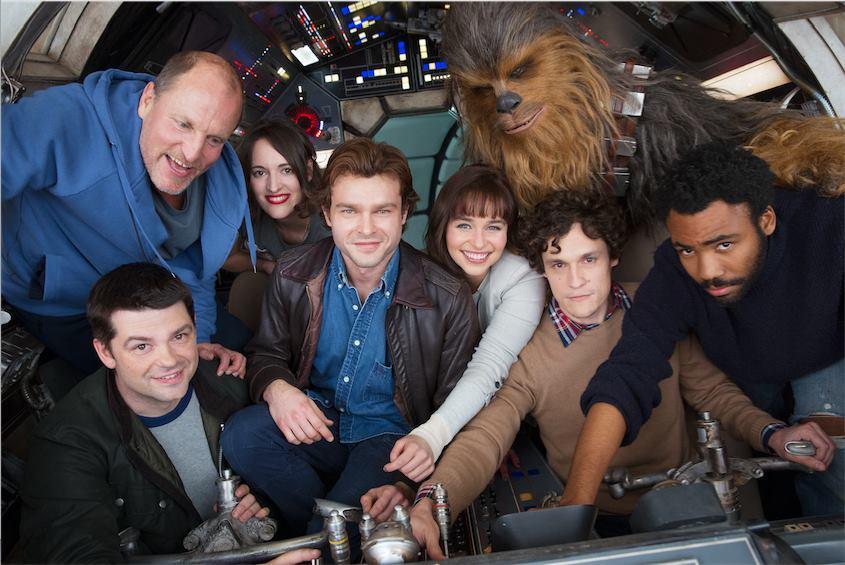 Phil Lord y Christopher Miller son los directores de la película, que será protagonizada por Alden Ehrenreich como Han Solo.