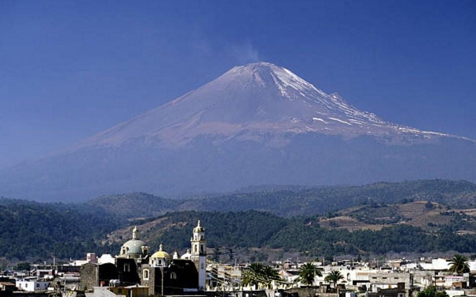 El semáforo de alerta volcánica en el Popocatépetl se encuentra en amarillo fase dos (Getty Images/archivo)