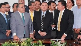 El PRD se presentará de manera conjunta con el PAN, PT y PES en coalición total para los cargos de elección de Ejecutivo estatal, presidentes municipales y Congreso local.