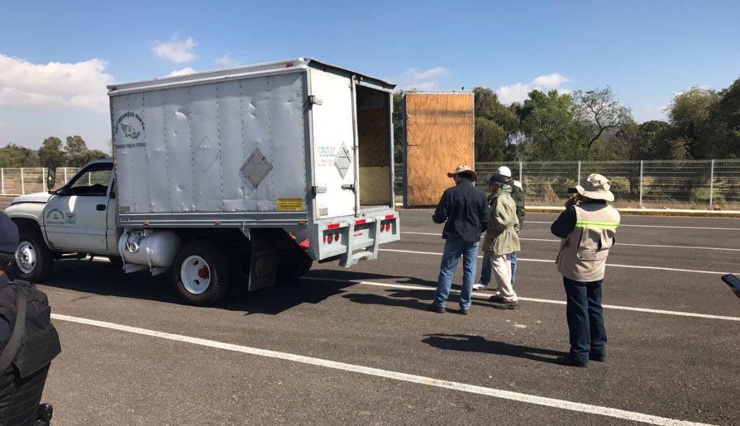 Profepa inspecciona más de 14 mil toneladas de residuos peligrosos en fronteras de México. (Twitter/ @PROFEPA_Mx)