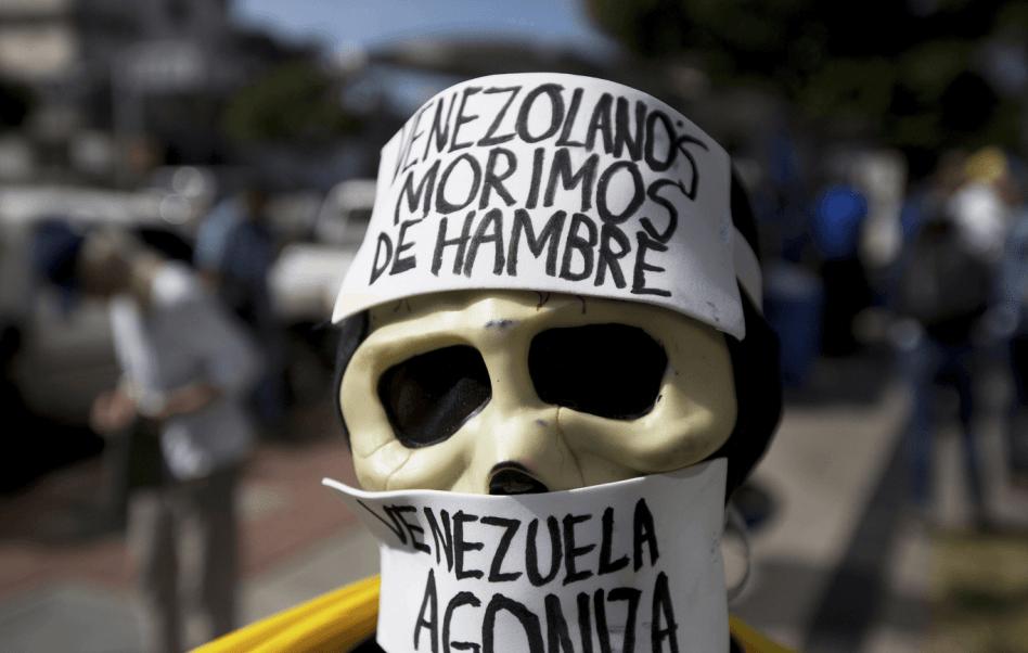 Protestas contra el gobierno de Venezuela. (AP, archivo)