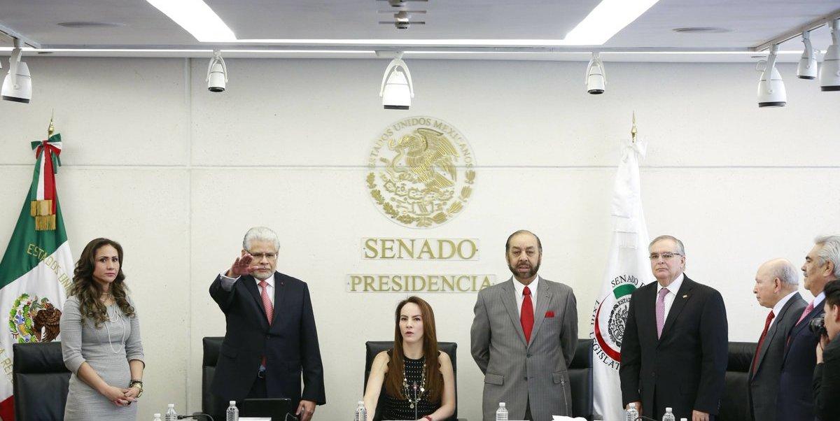 Ratifica Senado en comisiones a nuevo embajador de México ante China. (Twitter @SenadoresdelPAN)